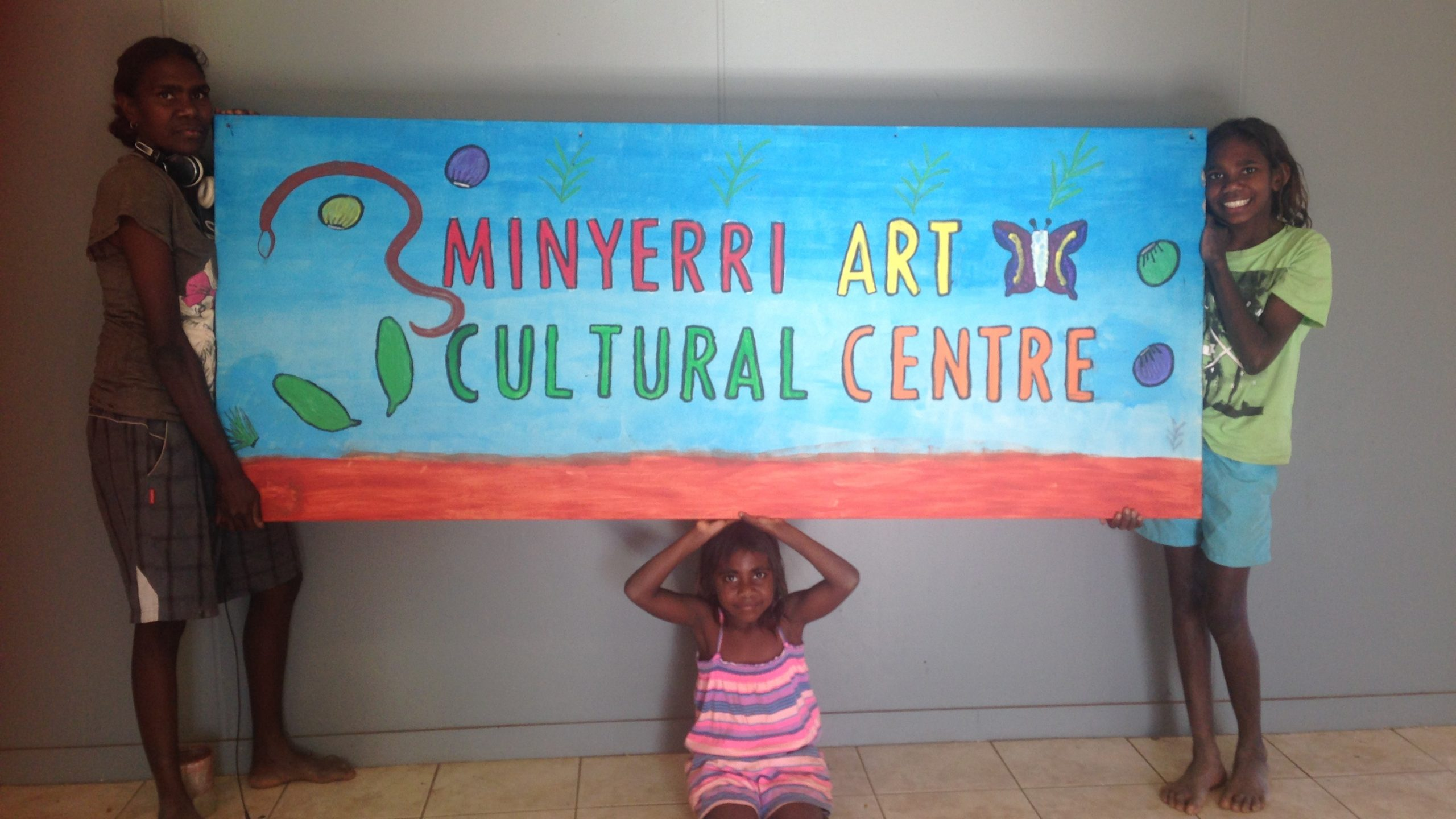 Minyerri; what a community arts centre is for